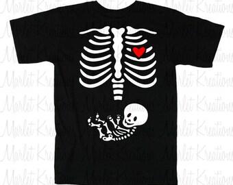 Skeleton Preggie T-shirt
