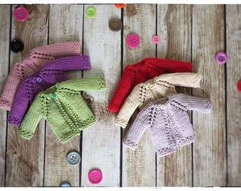 Blythe knit girly coat / cardigan