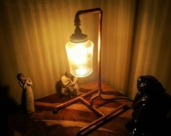 Retro Industrial Style Table Lamp - steampunk