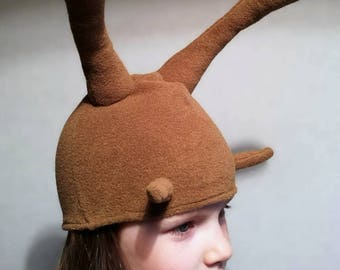 Snail hat / Kids snail costume / Adult snail costume / snail dress up / handmade costume / Halloween costume