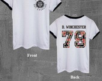 Supernatural Shirt Winchester 79, baseball shirt, unisex size S M L