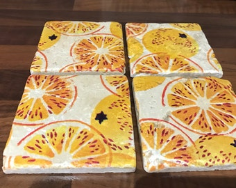 Marmalade design Coasters