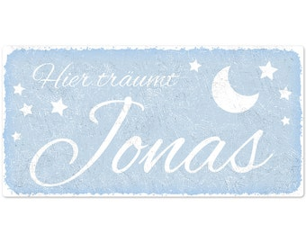 """Sign for children's """"Starry sky"""" 300x150mm"""