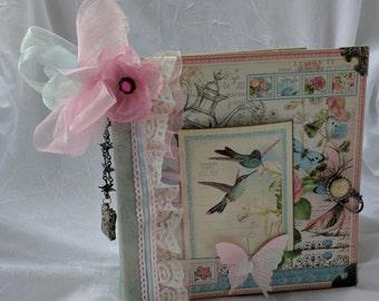 Botanical Tea 8x8 Scrapbook