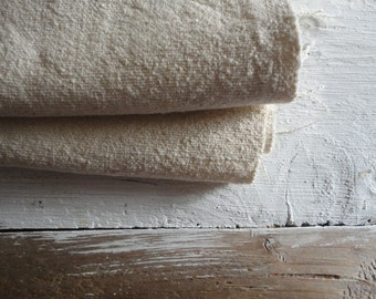 unbleached WILD / RAW SILK in off white _ fabric by yard