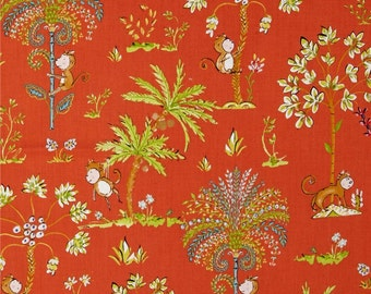 Dena Designs Sundara Oasis Lalika Red  Free Spirit  Fabric by the yard