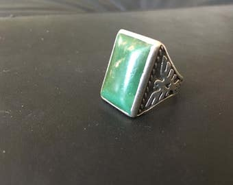 Turquoise Bell Trading Co. Sterling Ring