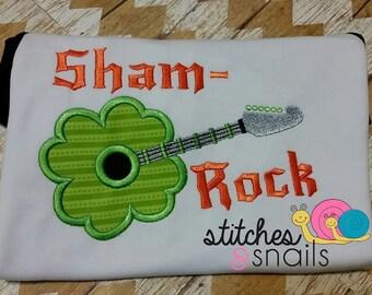 Sham-Rock Applique Shirt