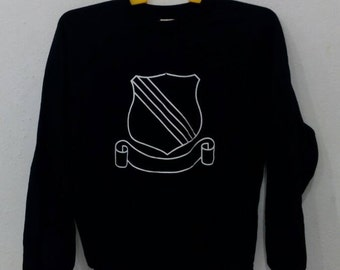 Rare number nine flag logo sweatshirts M size