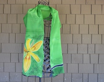 The Yellow Lily Scarf