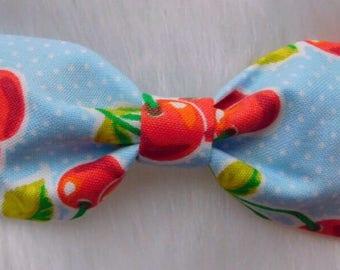 Retro Cherry girl/baby/toddler bow