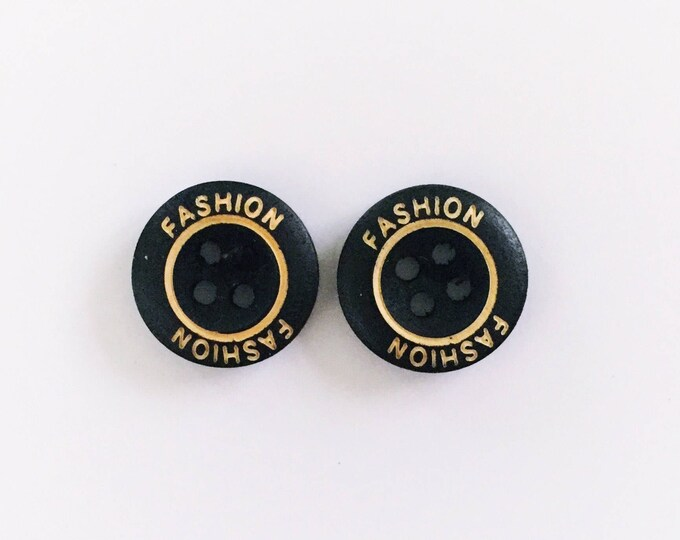 The 'Mikayla' Button Earring Studs