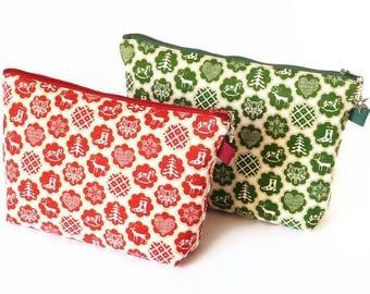 SALE Less than half  price Christmas Wash Bag.