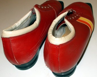 Ski Boots, Vintage Collectible Suveren Cross Country Ski Boots Size 44