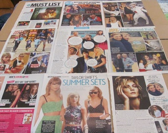 TAYLOR SWIFT   #5  CLIPPINGS  #0523