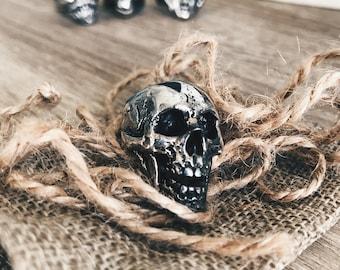 Mr. Reaper I, Skull ring - Handcrafted Sterling Silver Ring