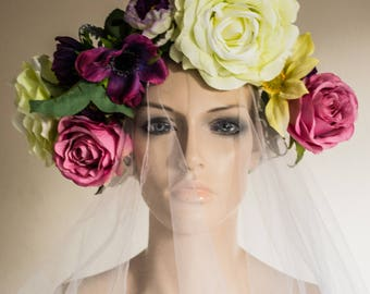 Spring Goddess Bridal / Festival Wreath