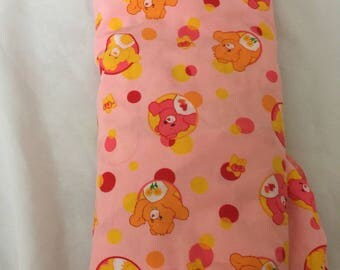 Vintage Care Bears Fitted Crib Sheet