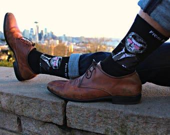 John F. Kennedy Socks