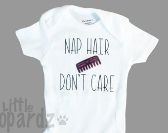 Nap Hair Bodysuit