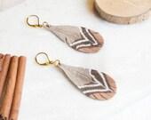 Pheasant feather, leather earrings, bohemian feathers, leather feathers, bohemian earrings, indian feathers, long earrings, fall jewelry