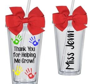 Personalized Teacher Tumbler ~ Teacher Gift ~ Teacher Tumbler