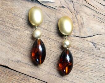 Vintage Pendants, Cliff Earrings * Free Shipping *