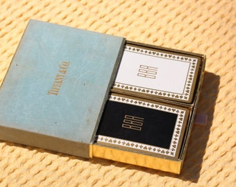 Tiffany & Co. Playing Cards With Velvet Box