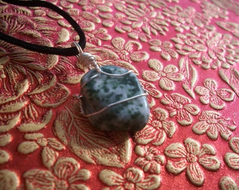 Now On Sale! Tree Agate Necklace