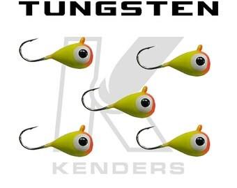 5 Pack - Kenders Tungsten Bright Orange Yellow Glow