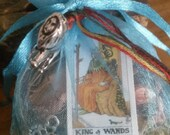 Mojo Bag and Tarot Reading customized and personalized made to order OOAK just for you! opportunity romance career family