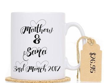 Personalised Couple Mug