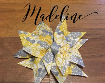 "Dog Collar Bow ""The Madeline"""