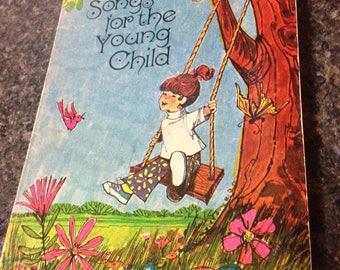 Vintage song book for children/1966/Vintage song book/Children's religious song book/Songs for the young child