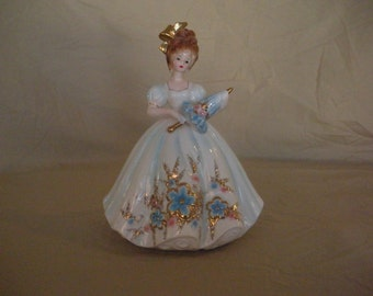 "Vintage Josef Original Lady from the  ""Love Makes The World Go Round"""