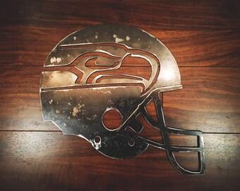 Steel Seahawks Helmet