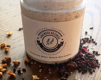 Citrus and Black Currant Dead Sea Salt Scrub