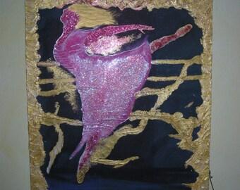 light pink Ballet flat