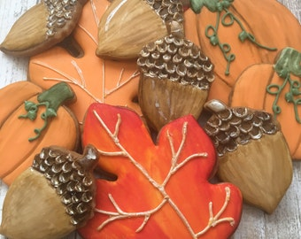 Fall Themed Cookies