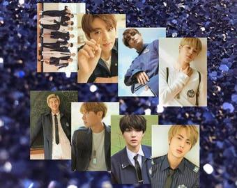 SCHOOL DAYS | 방탄소년단 BTS Metallic Photo Print Set