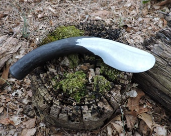 Hand Forged Coil Spring Knife