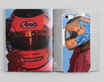 Frank Ocean Helmet iPhone Case by AKARTS