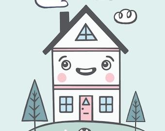 MiniHouse Print 8X10