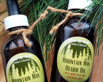 Mountain Man Beard Oil
