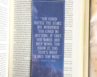 Throne of Glass Sarah J. Maas Quote Bookmark