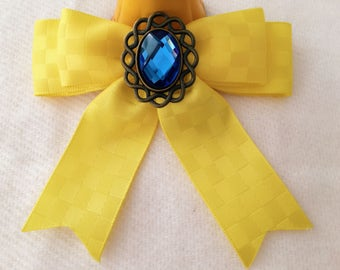 4 # barrette hair in pretty bow inspired by the beauty and the beast number 2