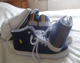 Polo Ralph Lauren Cantor High NE sneaker  SHOES SIZE  Uk 7