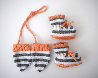 Baby Thumbless Mittens for 6-12 months