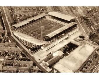 Roker Park Sunderland AFC Ariel Print