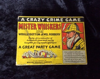 Mister Whiskers and the Wrigleybottom Jewel Robbery